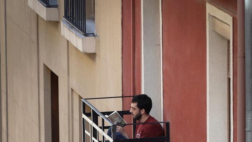 """Las lecturas ambientales desde el balcón """"animan"""" los días de confinamiento"""