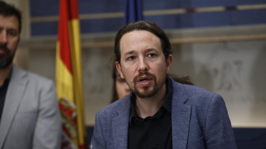 """Pablo Iglesias acusa a Montoro de perseguir a los ayuntamientos que """"no son de su cuerda"""" y que no puede """"parasitar"""""""