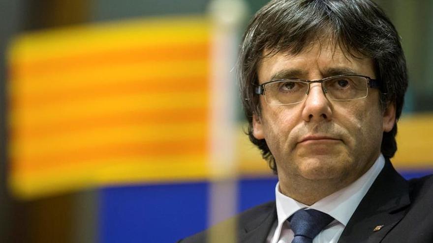 Puigdemont convocará hoy a la prensa en Bruselas