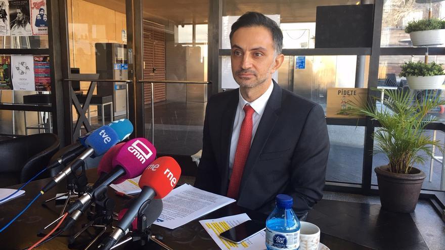 Ioannis Virvilis, adjunto de prensa de la Representación de la Comisión Europea