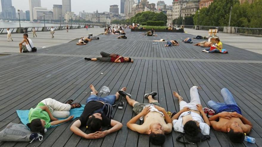 La ola de calor en Shanghai batió records de temperaturas en 2017
