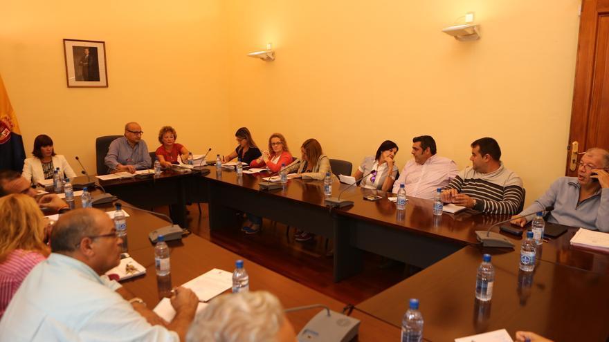 Pleno extraordinario en el Ayuntamiento de Santa Brígida
