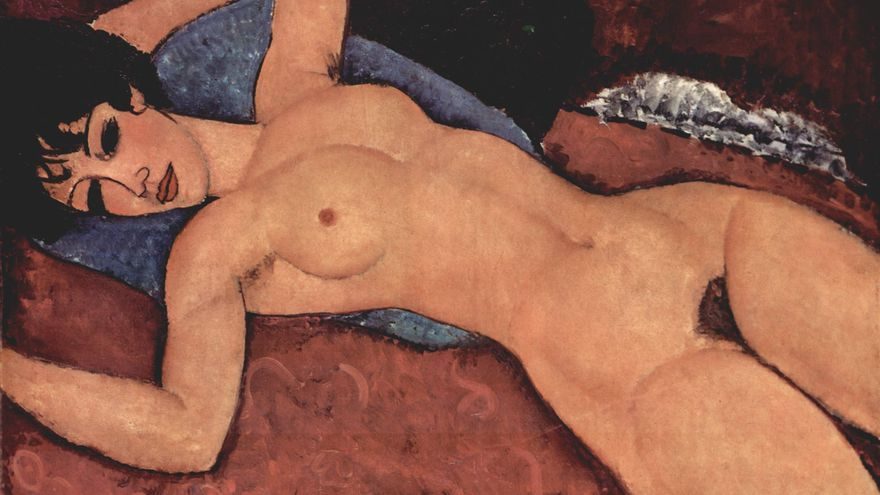 Amedeo Modigliani, Reclining Muse