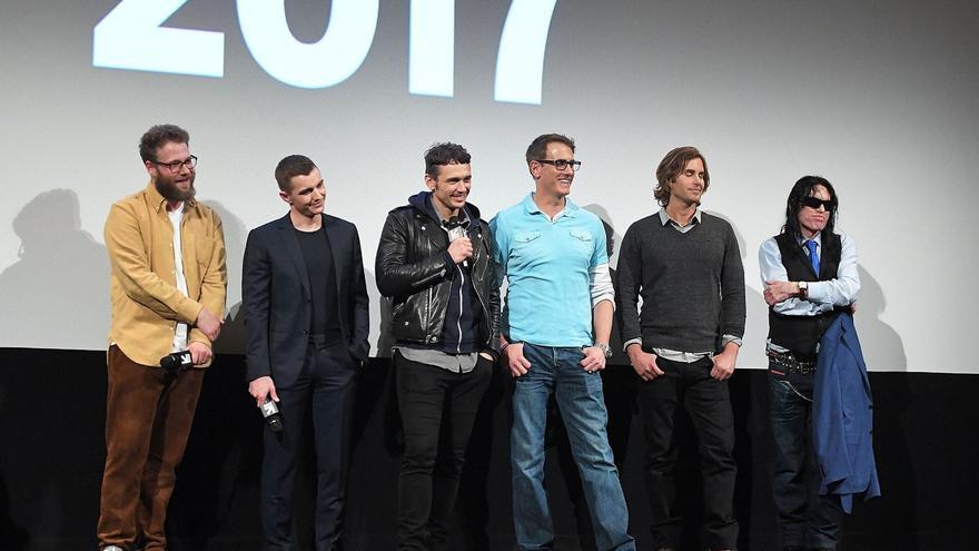 Presentación de 'The disaster artist' en el SXSW, con James Franco, Seth Rogen y Tommy Wiseau