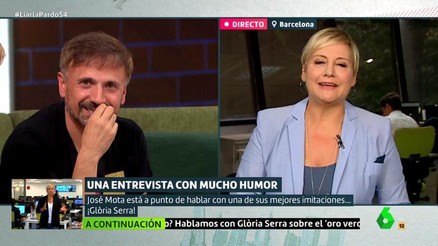 José Mota sorprendido por Gloria Serra en 'Liarla Pardo'