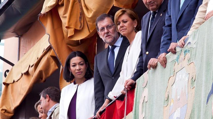 El alcalde de Seseña pide apoyo a Rajoy para afrontar el incendio de los neumáticos