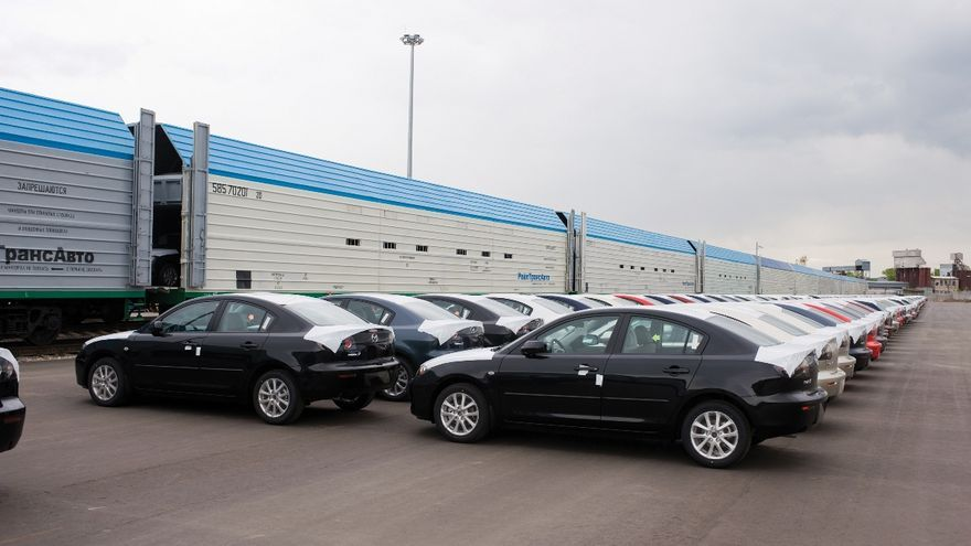 Mazda y el Transiberiano, una década de éxito logístico.