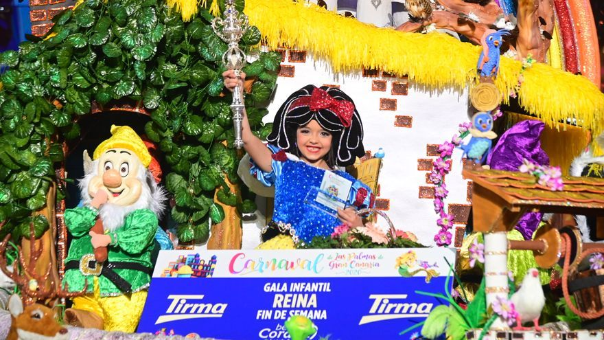 Jennifer Filippis, Reina Infantil del Carnaval de Las Palmas de Gran Canaria.