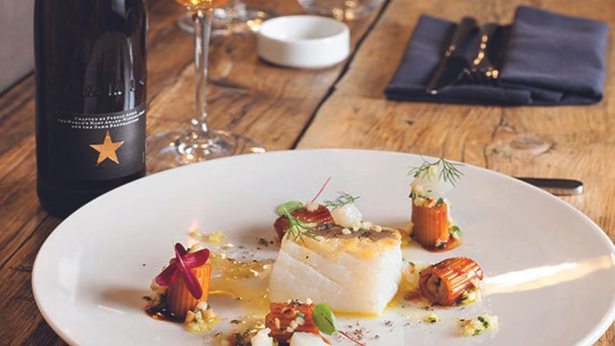 Bacalao e Inedit, por Restaurante Mano Rota.