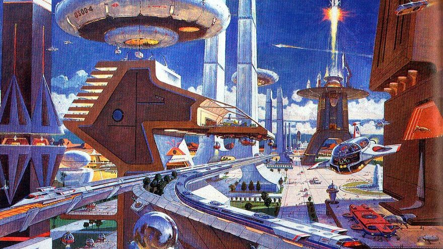 La ciudad del futuro de Robert McCall, 1970