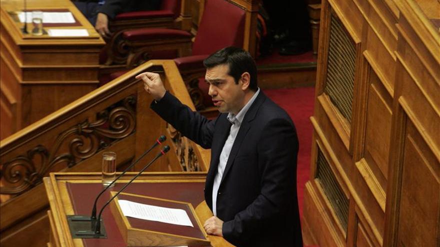 Tsipras reitera que pedirá a Alemania reparaciones para lograr avances pronto
