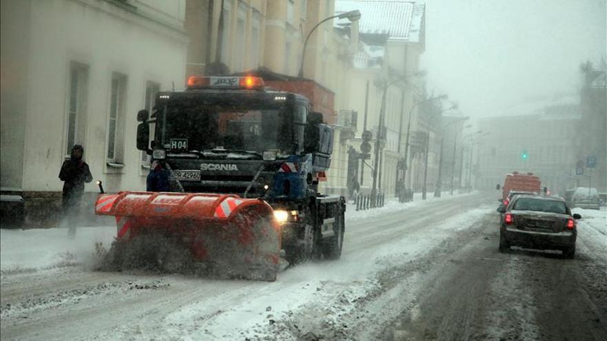 La ola de frío causó en Polonia al menos 34 muertos desde el inicio de 2014