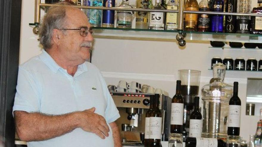 Sixto Delgado de la Coba. FOTO: Facebook de Viñas & Vino Hoyos de Bandama