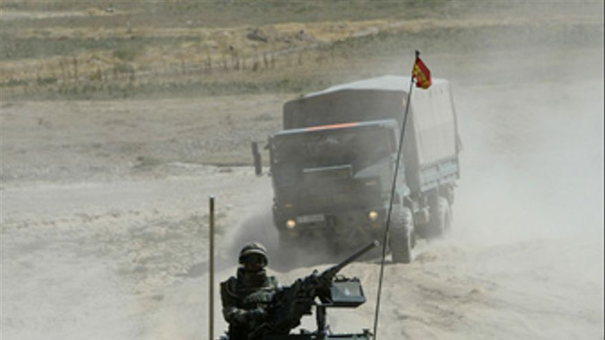 Soldado español en Afganistán