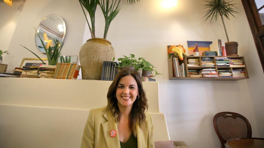La candidata del PSPV a la alcaldía de València, Sandra Gómez