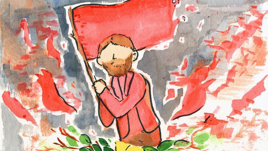 Ilustración de Antonete Gálvez por MARÍA RODRÍGUEZ GONZÁLEZ