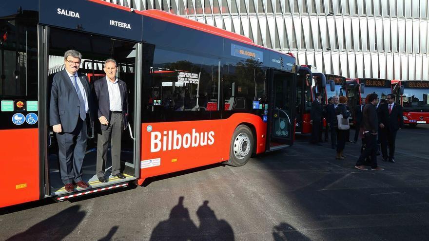 Bilbao incorpora a su flota de Bilbobus seis nuevos autobuses con visión perimetral