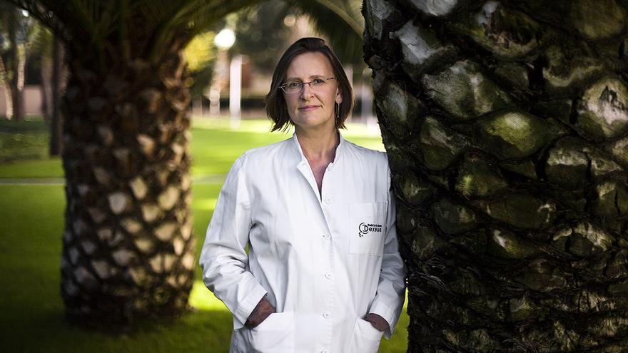 La doctora Elisabet Clua, responsable del programa de Donación de Ovocitos y Embriones de la Dexeus