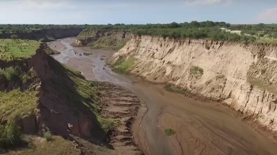 Imagen de Río Nuevo en la Cuena del Morro, provincia de San Luis