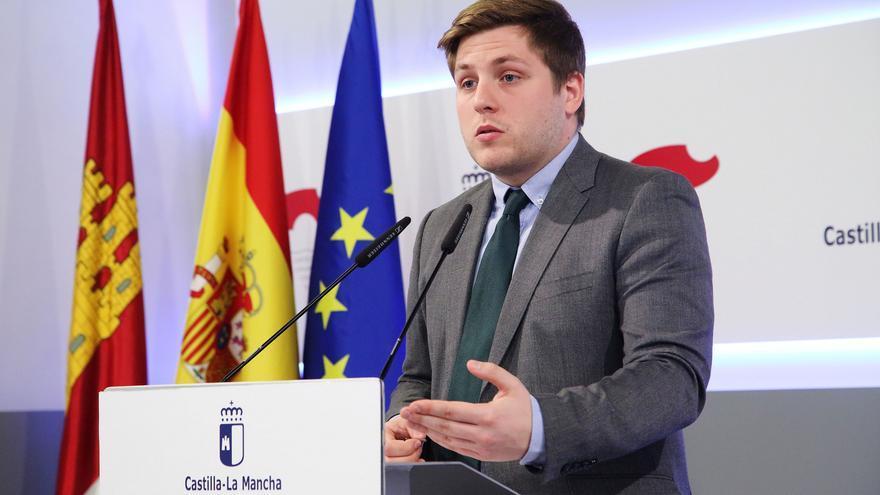 El portavoz del Gobierno castellano-manchego, Nacho Hernando