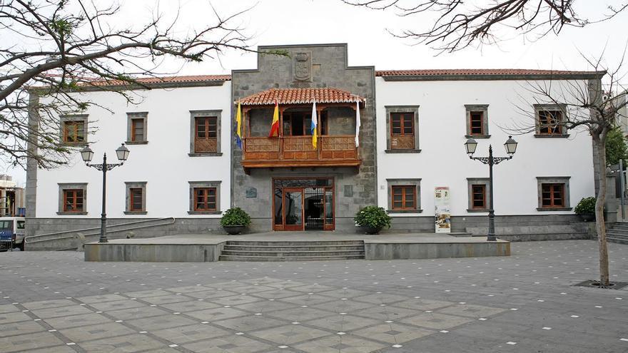 Ayuntamiento de San Bartolomé de Tirajana. (ALEJANDRO RAMOS)