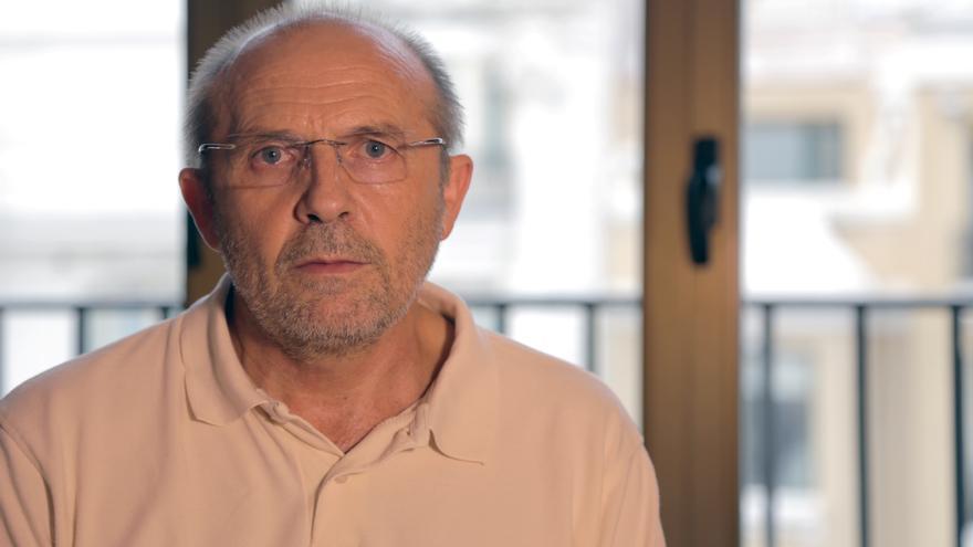 José Antonio Arrabal, paciente de ELA
