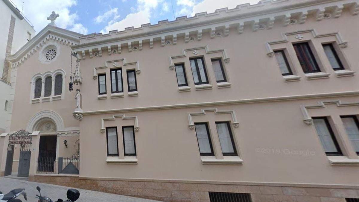 Sede en Barcelona de la congregación de Religiosas de Nuestra Señora de la Merced