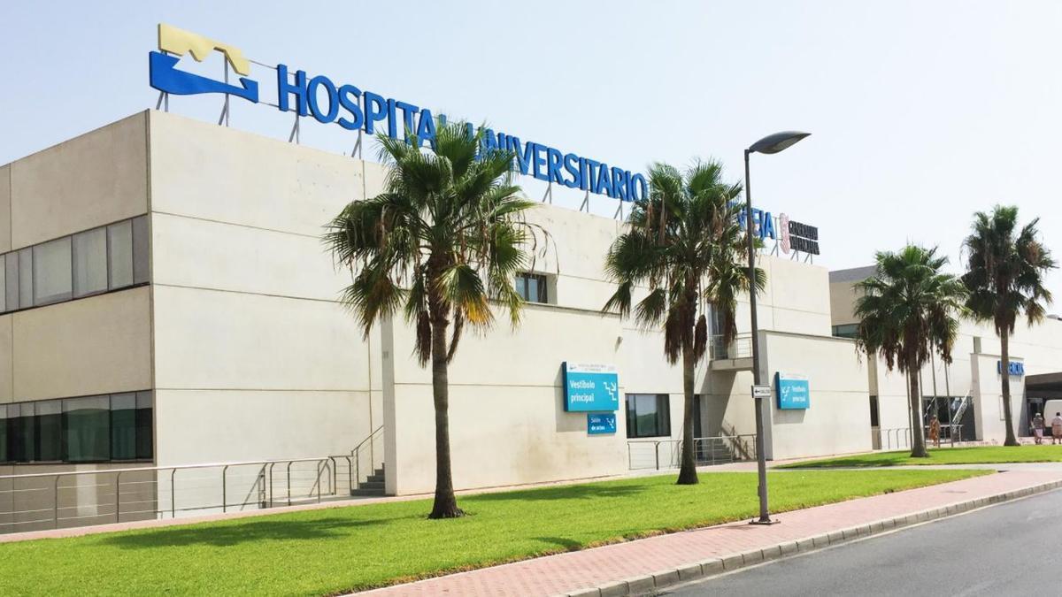 El hospital de Torrevieja.