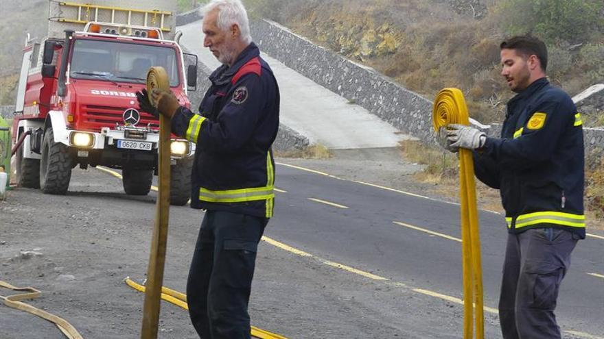 La Palma apela a la prudencia ciudadana hasta la declaración de control del incendio