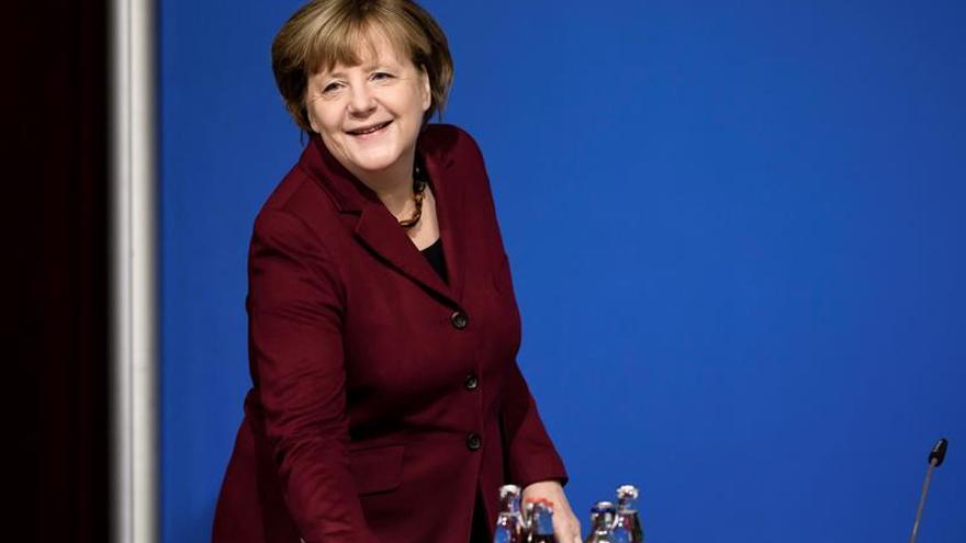 Merkel descarta un acuerdo migratorio con Libia como el suscrito con Turquía