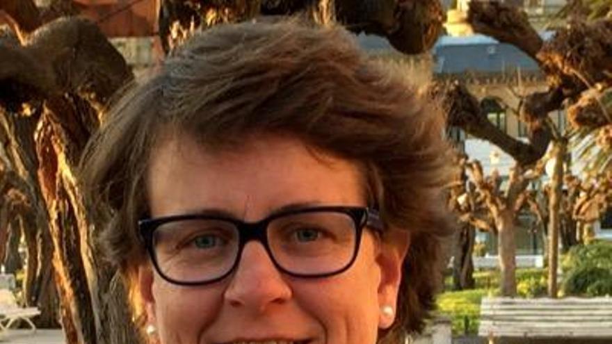 MIren Albistur, candidata del PP a la Alcaldía de San Sebastián.