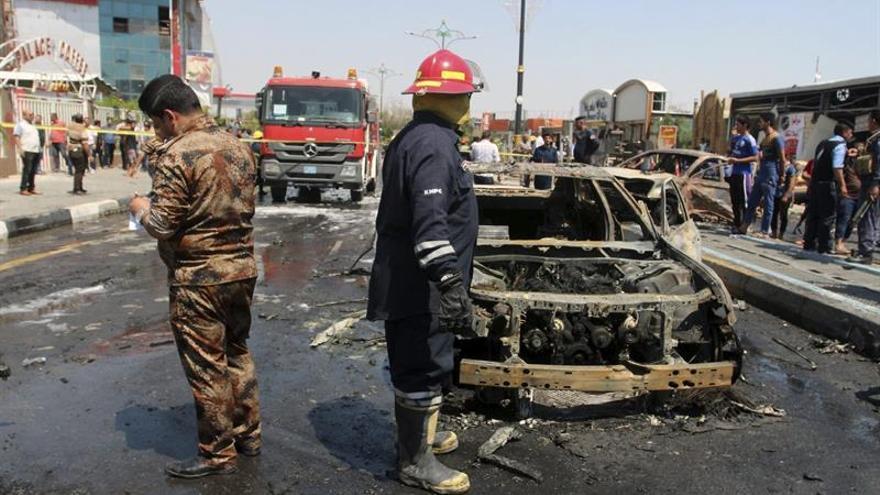 Al menos 22 muertos y decenas de heridos en un doble atentado en el sur de Irak