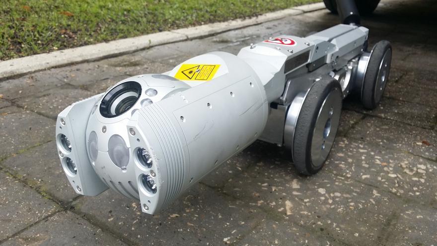 Robot para supervisar las alcantarillas.