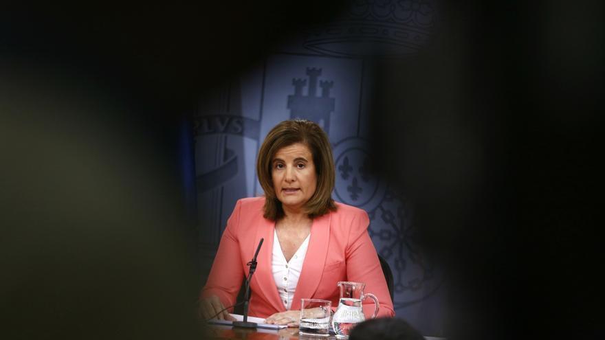 La ministra de Empleo, Fátima Bañez / EFE