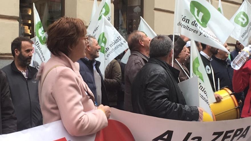Manifestación por las calles de Toledo