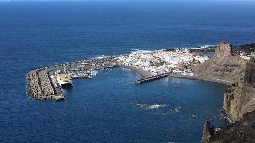 Estado actual del Puerto de Las Nieves. (ALEJANDRO RAMOS)