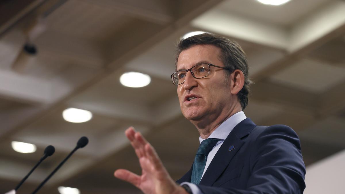 El presidente de la Xunta, Alberto Núñez Feijóo. EFE/Lavandeira jr/Archivo