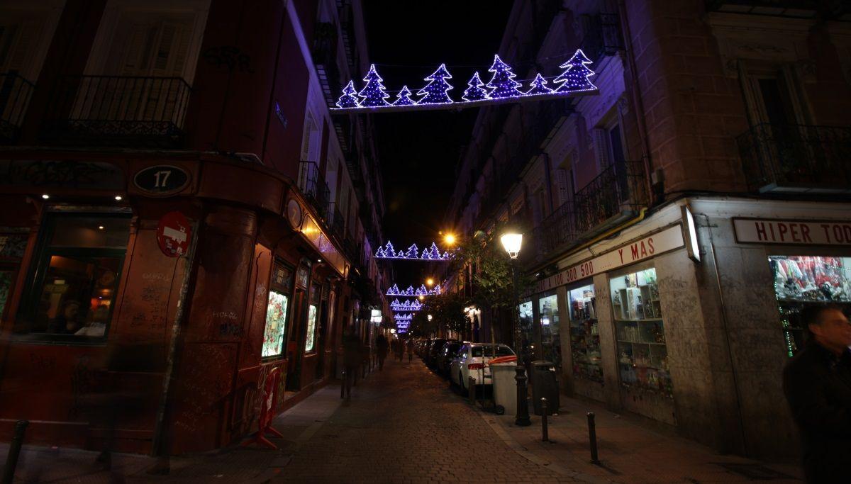 Iluminación navideña de 2015 en San Vicente Ferrer | RAQUEL ANGULO