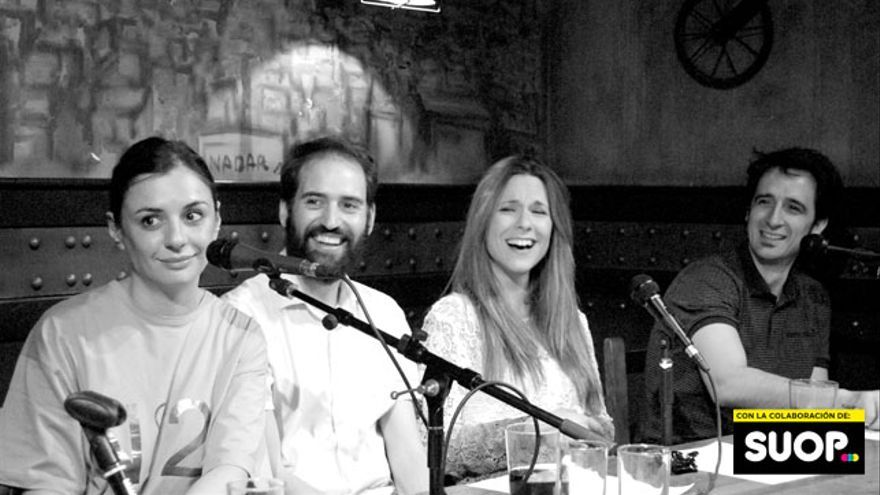 Miren Ibarguren no gritó ni una sola vez, como demuestra la plácida calma de Borja Sumozas, Nikki García y Javier Gallego