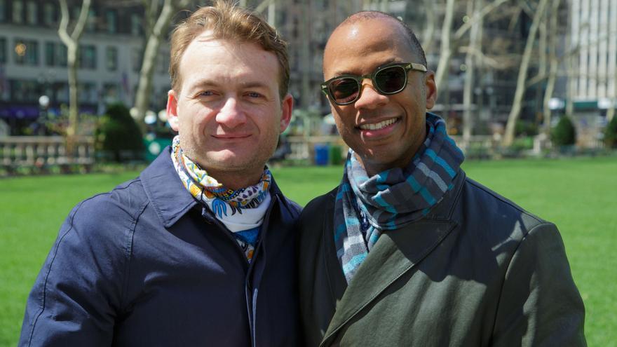 Adrian Coman y Claibourn Hamilton