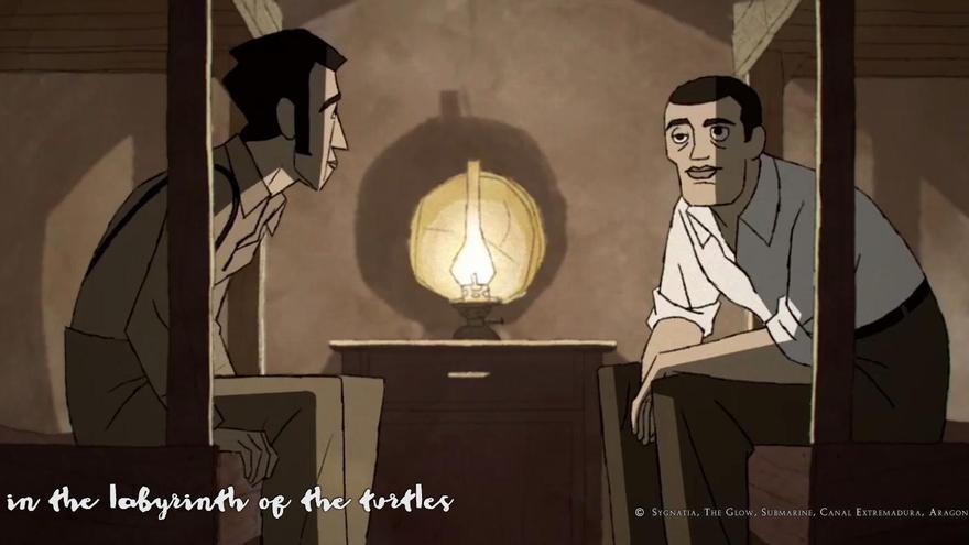Imagen promocional de 'Buñuel en el laberinto de las tortugas'.