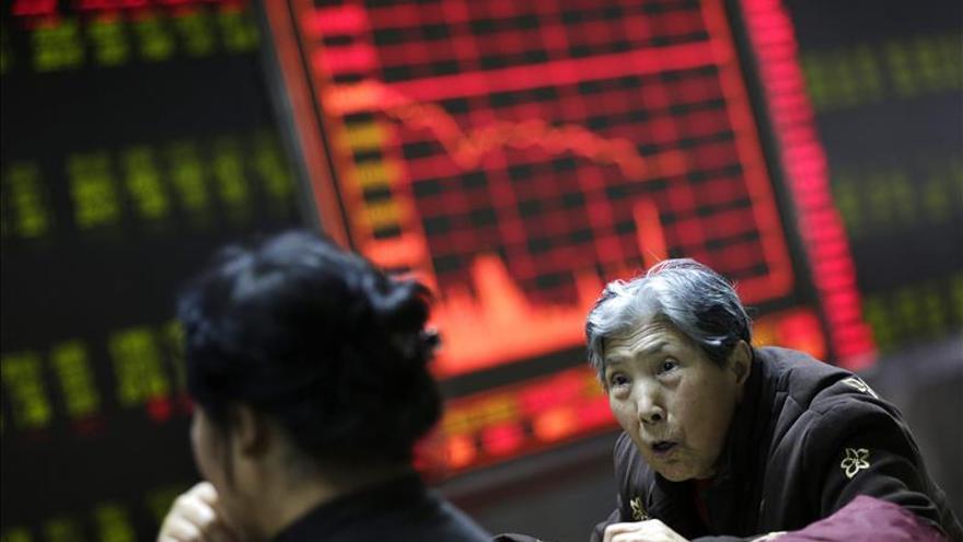China cierra sus bolsas prematuramente por primera vez ante caídas de 7 por ciento
