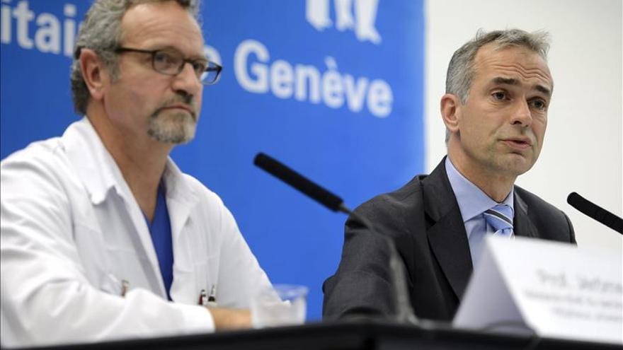 El médico cubano con ébola recibe el medicamento experimental Zimapp en Suiza