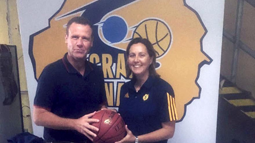 Rosi Sánchez y Juanma Marrero.