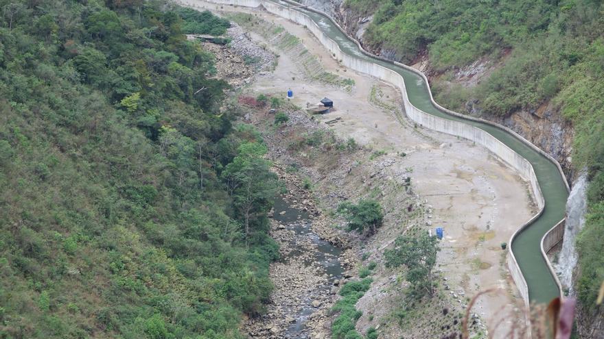 En algunas zonas de los 30 kilómetros del río afectados por el proyecto, el cauce prácticamente no lleva agua | Alianza por la Solidaridad
