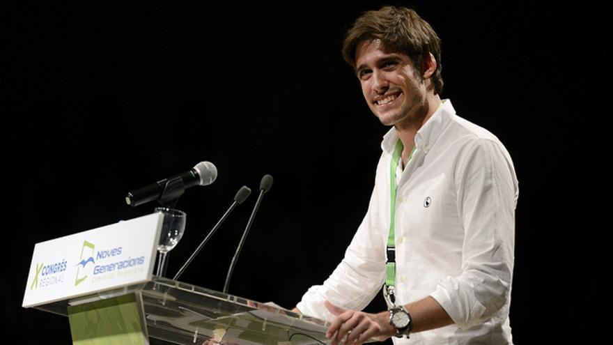 Juan Carlos Caballero, presidente de Nuevas Generaciones de la Comunidad Valenciana