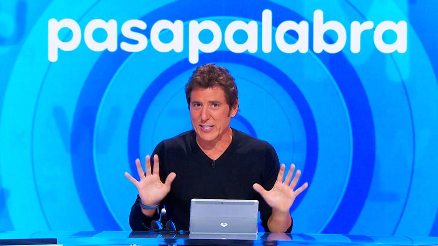 Manel Fuentes, en su última entrega como presentador de 'Pasapalabra'