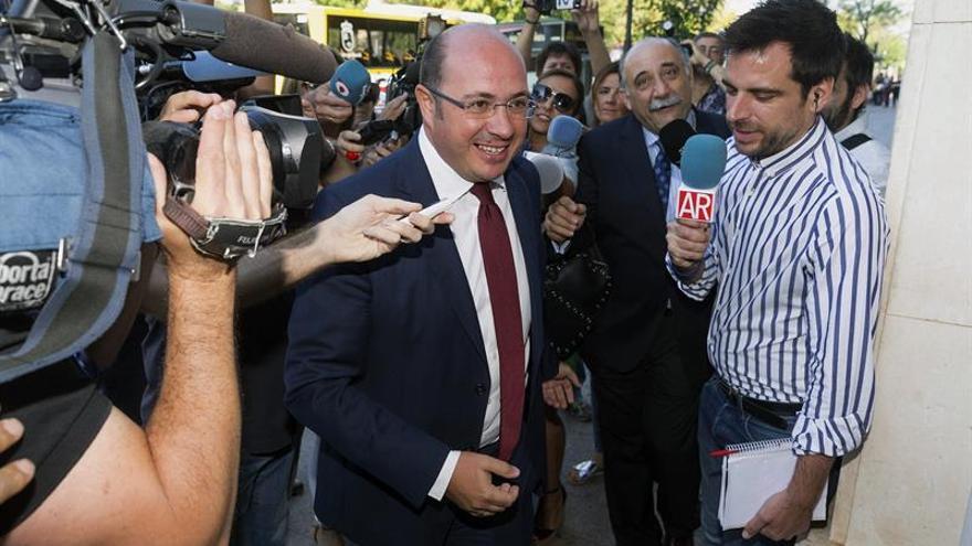 El expresidente de Murcia insiste que no contrató con Púnica aunque se reunió con empresarios