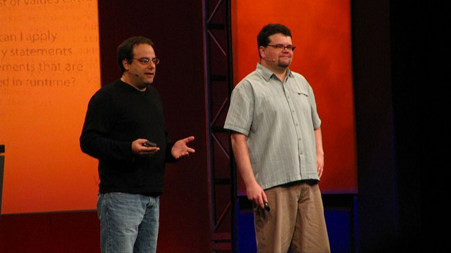 Joel Spolsky y Jeff Atwood, cofundadores de Stack Overflow