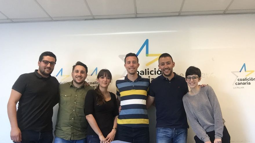 Ejecutiva Insular de Jóvenes de Coalición Canaria (CC) de La Palma.